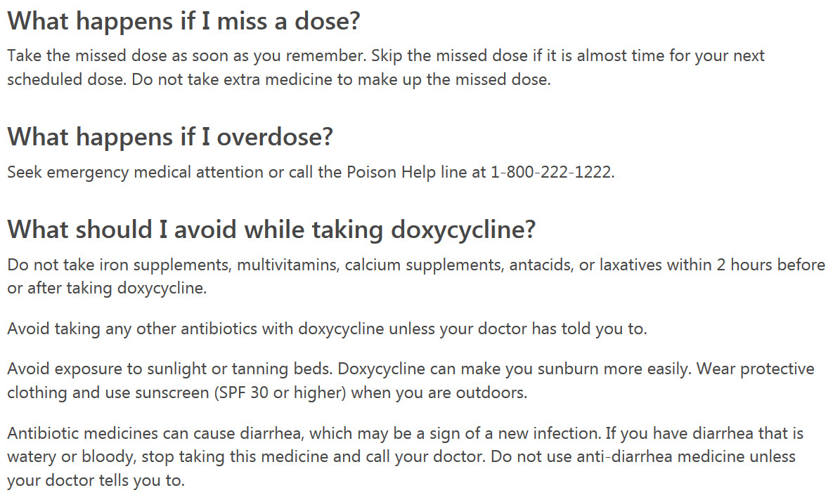 A characteristic description of the antibiotic Doxycycline. How the drug works, indications for use and contraindications, side effects.