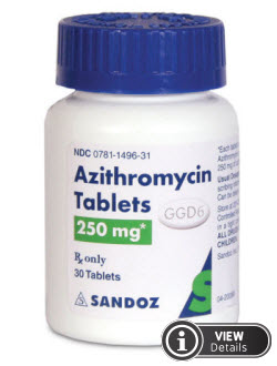 Azithromycin for adnexitis