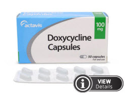 doxycycline for adnexitis